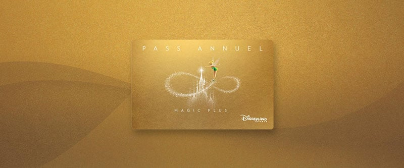 passeport annuel Magic plus Disney