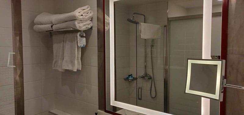 hotel marvel salle de bain