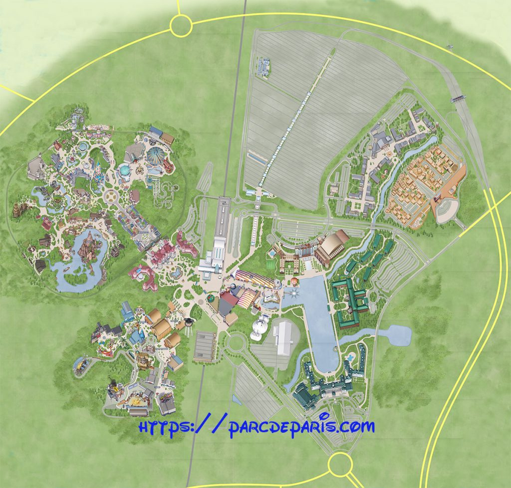 carte disneyland paris