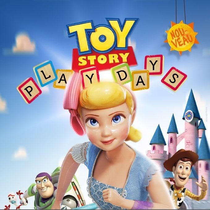 Toy Story Play Days du 18 au 28 juin