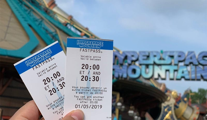 ticket fastpass hyperspace mountain