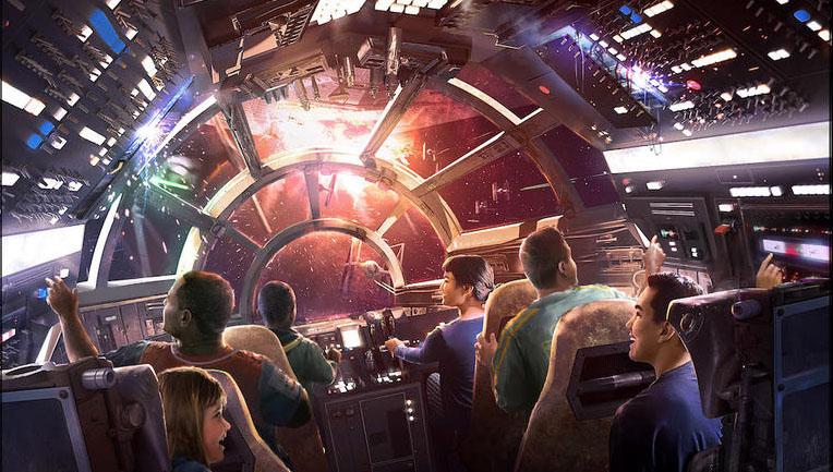 Star Wars Land à Disneyland (Californie)