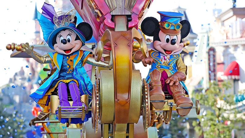spectacle parade disney paris