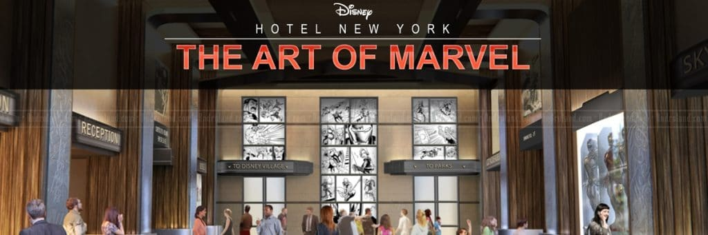 hotel art of marvel disneyland paris