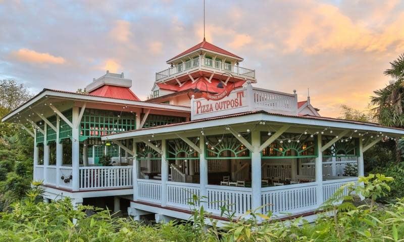 Colonel hathi's pizza outpost Disneyland