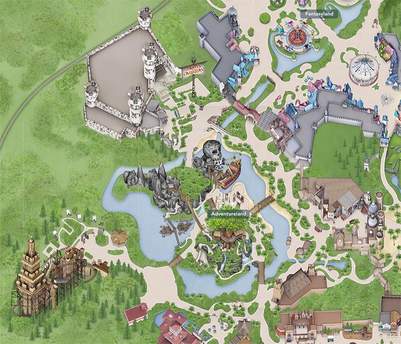 plan adventureland paris