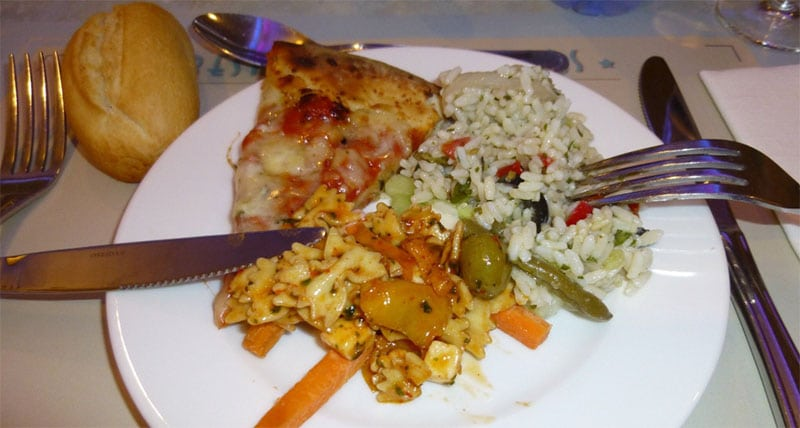 repas restaurant des stars disney