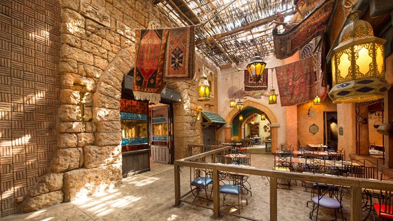 restaurant agrabah cafe disneyland paris