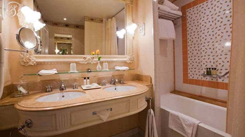 chambre castle club disneyland hotel
