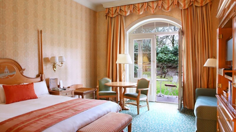 disneyland hotel chambre avec terrasse