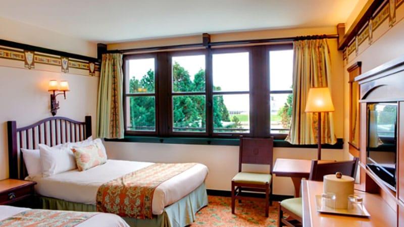 chambre standard sequoia lodge