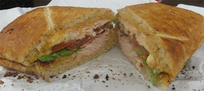 repas au Earl of Sandwich