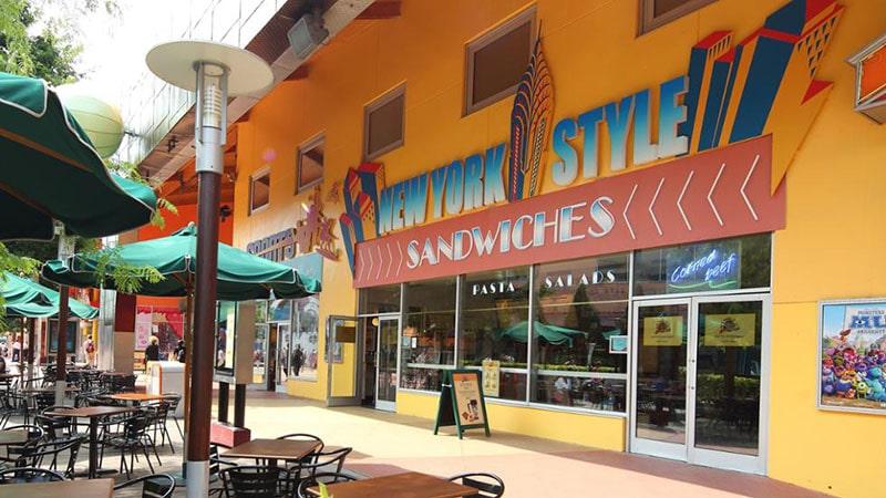 New York Style Sandwiches au Disney Village