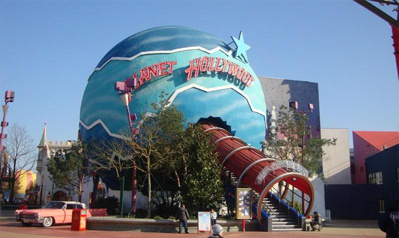 Planet Hollywood au Disney Village