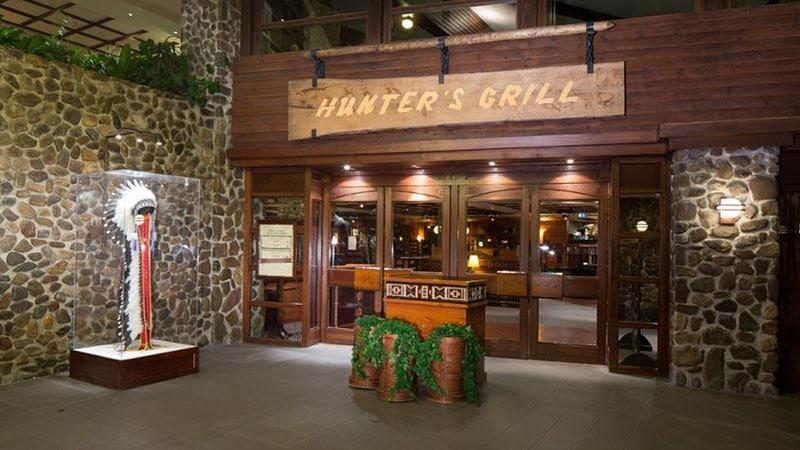 Entree du Hunter's Grill