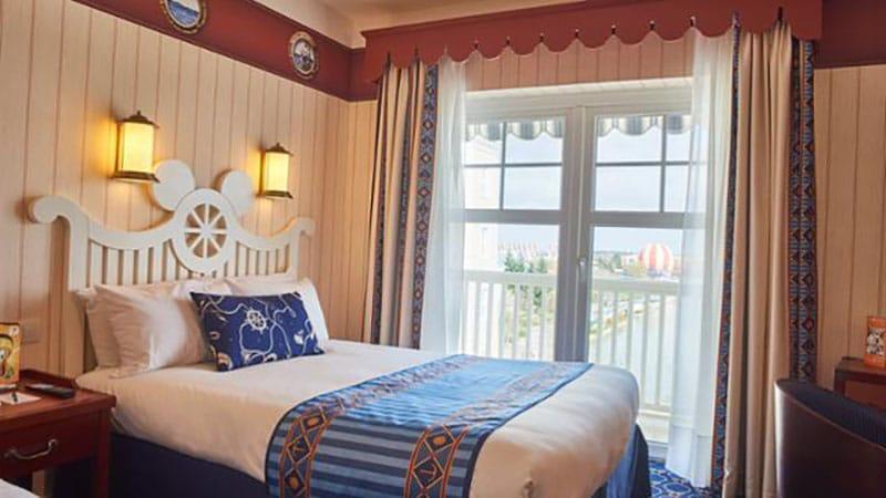 chambre supérieure de l'hotel newport bay club paris