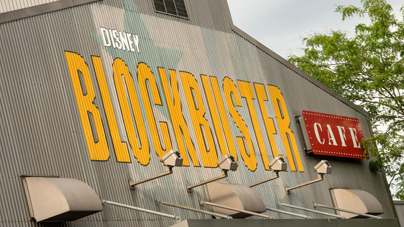 Disney Blockbuster Café Disneyland Paris