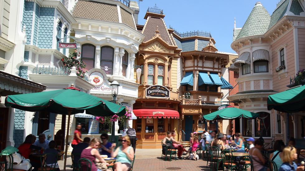 The Coffee Grinder Disneyland