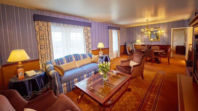 suite présientielle de l'hotel newport bay club disneyland paris
