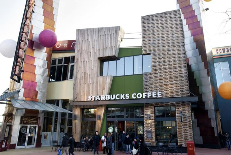 starbucks coffee du disney village