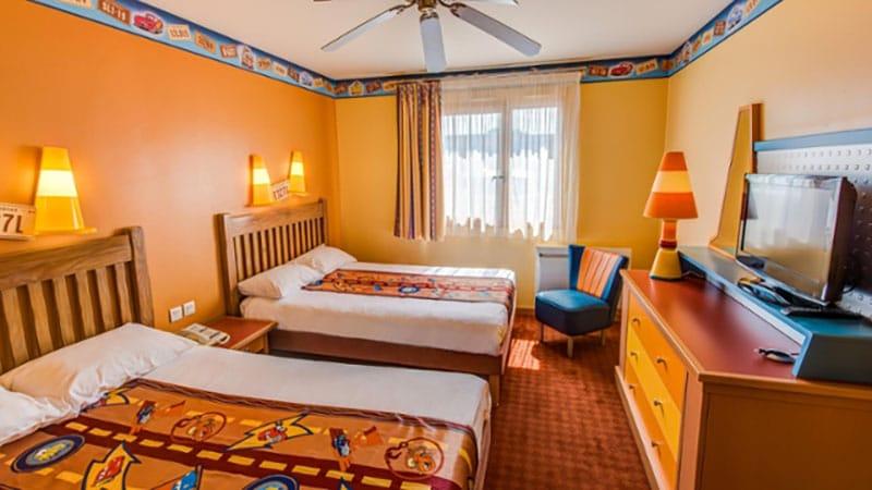 chambre standard de l'hôtel Disney Santa Fe