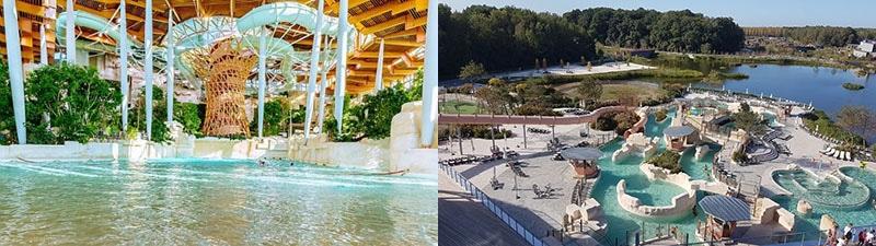 piscine aquatique du Disney village nature Center Parks