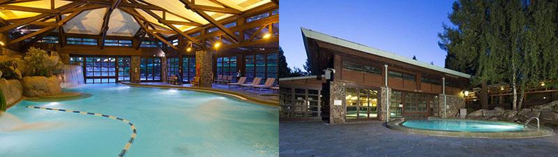 Immense piscine au Sequoia Lodge Hotel