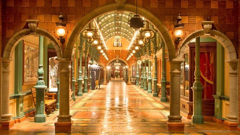 Le Discovery Arcade de Disneyland Paris